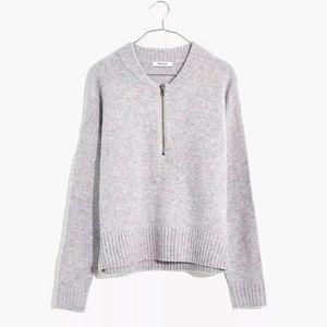 NWT Madewell Half-Zip Sweater